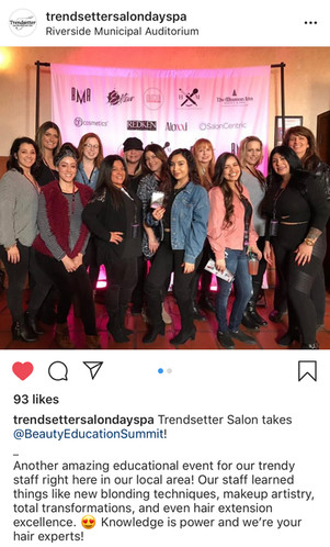 Salons learning together