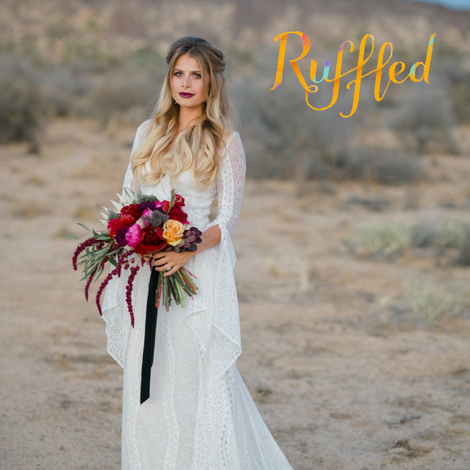 Spanish Bohemian Feature on Ruffled