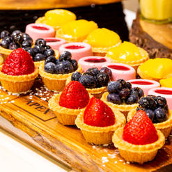 Assorted French Pastries and Tarts