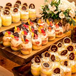 Assorted Desserts in Mason Jars
