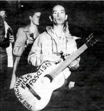 Woddy Guthrie This Machine Kills Fascist