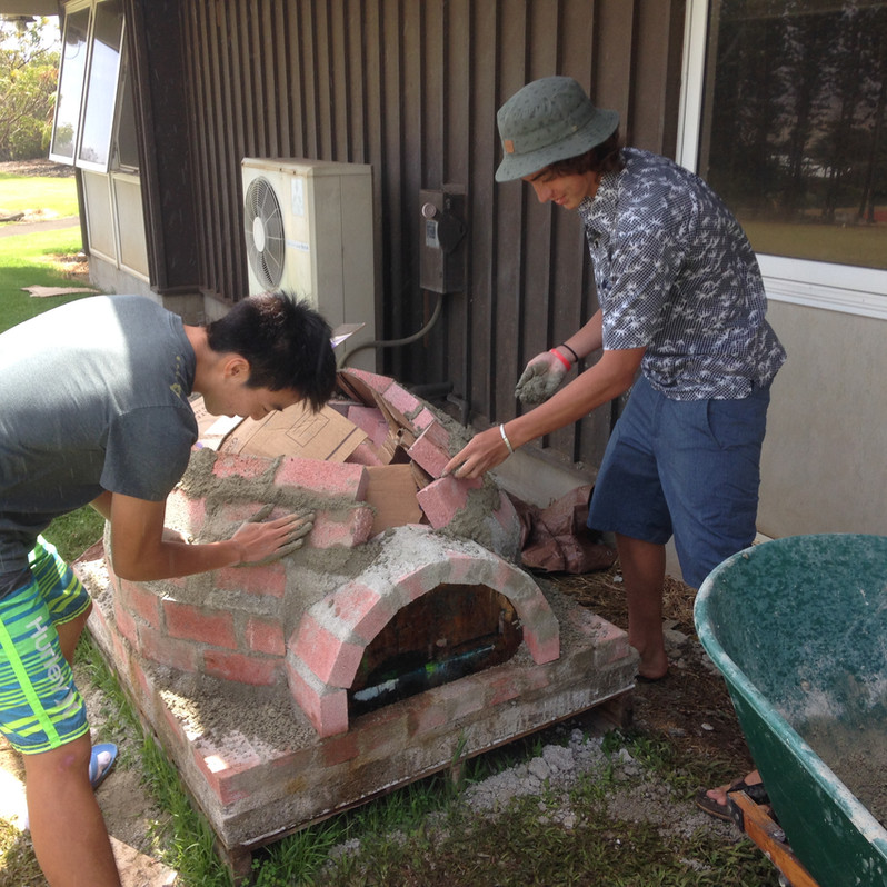 Independent Advanced Art Project -- Keisuke and Kainoa's Pizza Oven