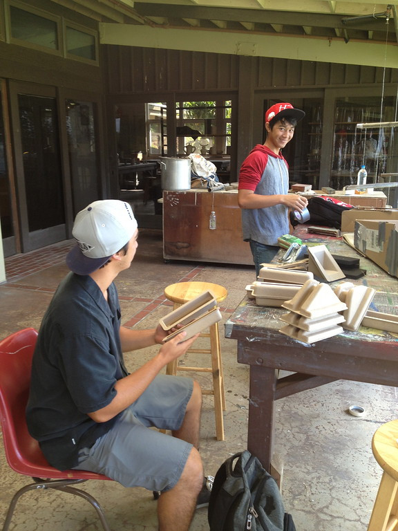building functional recycled chairs