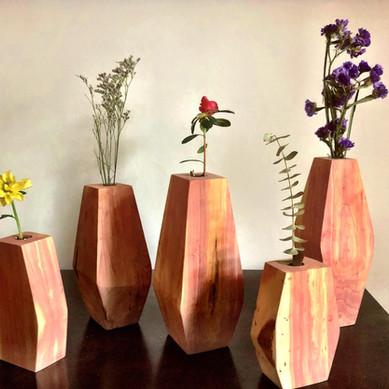 Cedar Vases