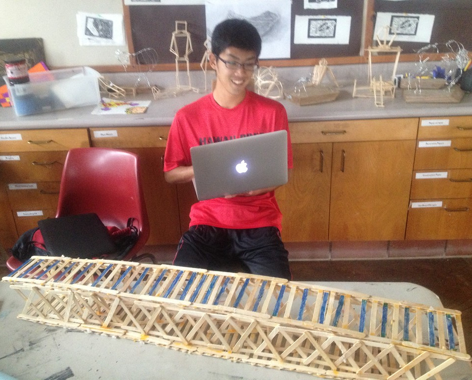 planning for the bridge builders' competition
