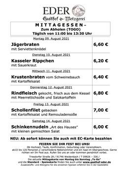2021_KW_32_Wochenangebot To Go_Gaststätte