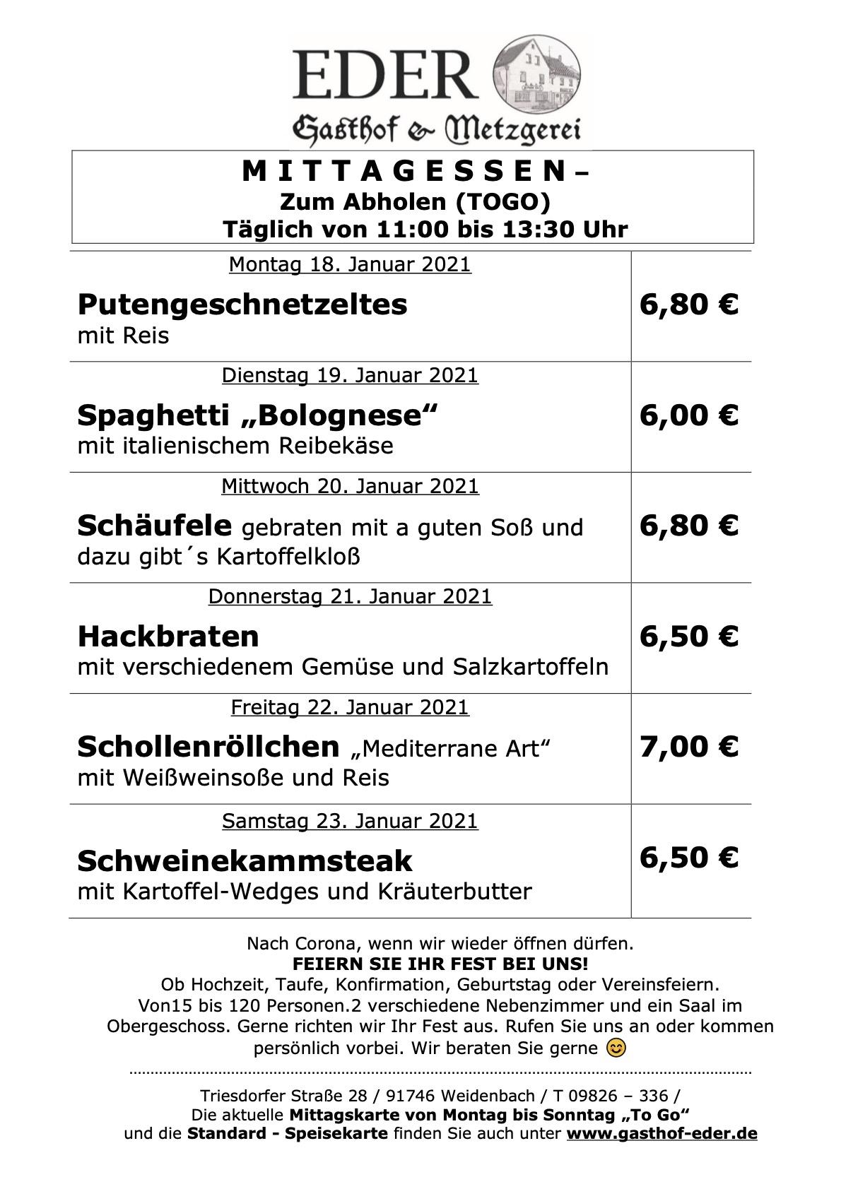 KW_03_Wochenangebot To Go_Gaststätte