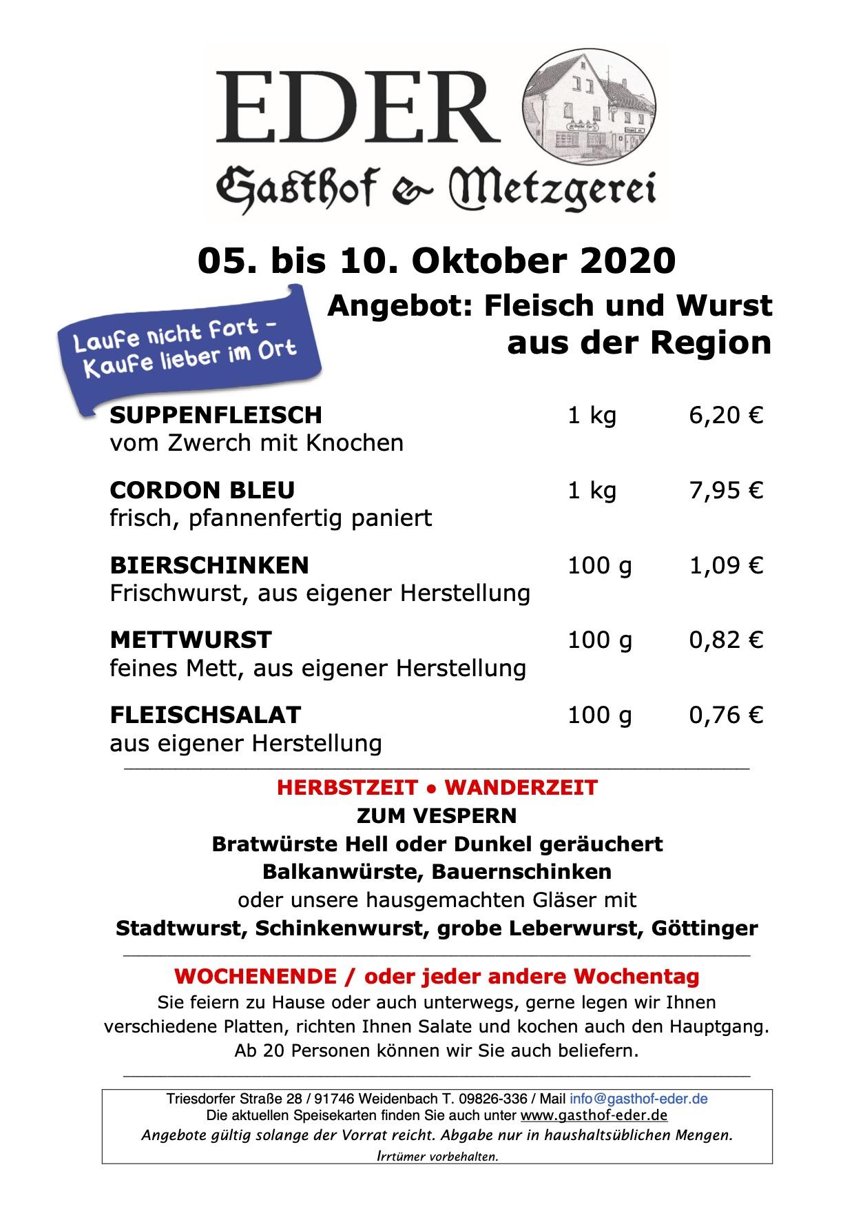 KW_41_2020_Wochenangebot Metzgerei