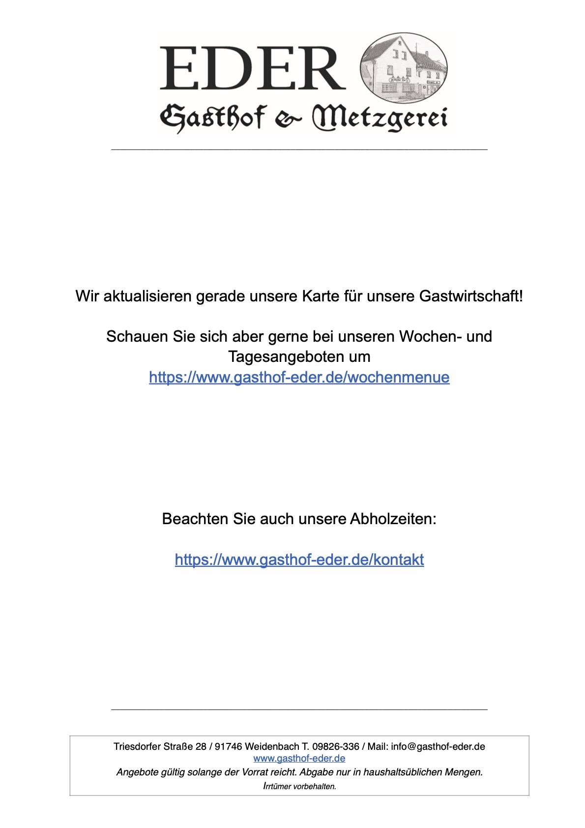 20210103_Update Speisekarte