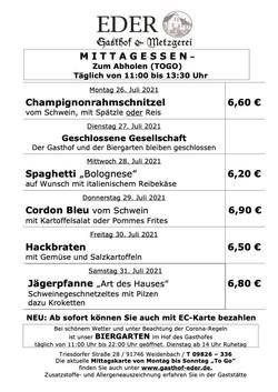KW_30_Wochenangebot To Go_Gaststätte_