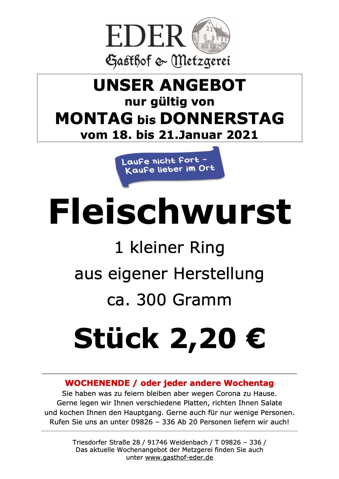 KW 03_2021_Angebot der Woche_Fleischwurs