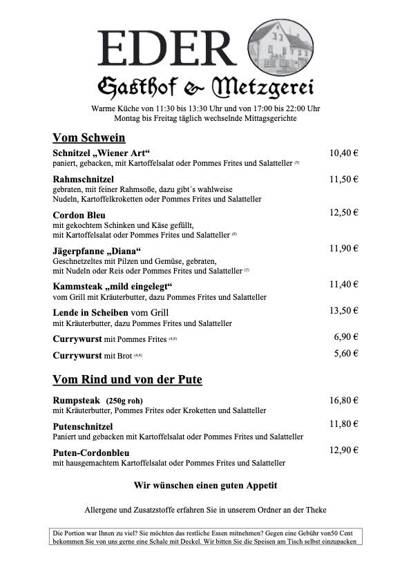 Standardkarte_Seite 2_Hauptspeisen