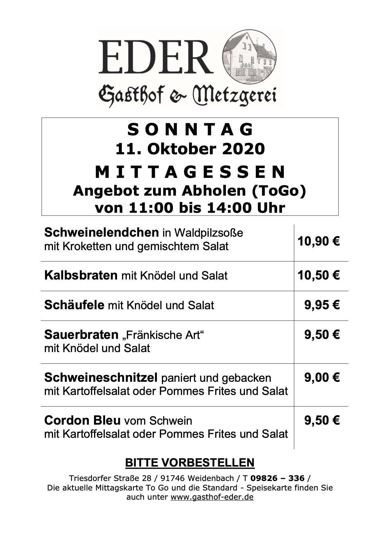 Sonntag_11.10.2020