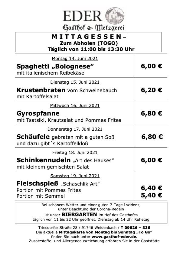 KW_24_Wochenangebot To Go_Gaststätte_