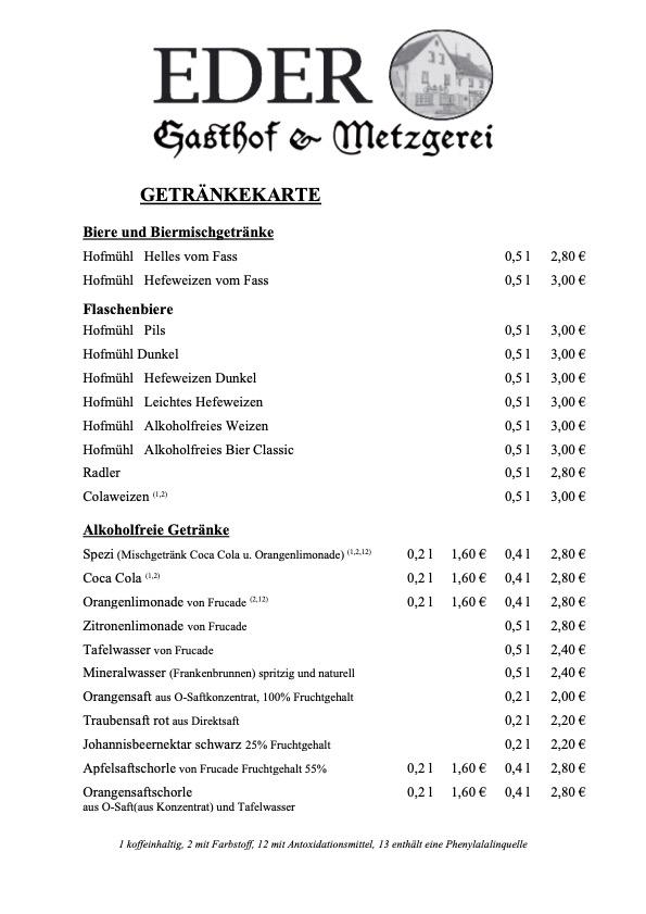 Standardkarte_Seite 4_Getränke Biere und