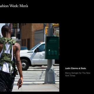 NY TIMES SUMMER 2017 JUSTIN ETIENNE
