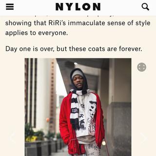 NYLON MENS FASHION