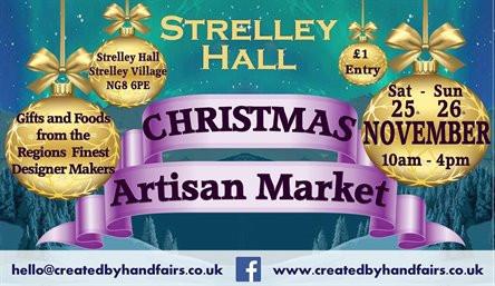 Strelley Christmas Market poster