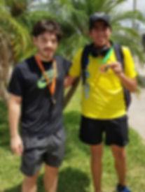 Bernardo Valleo 1st MOS and Erick Castro