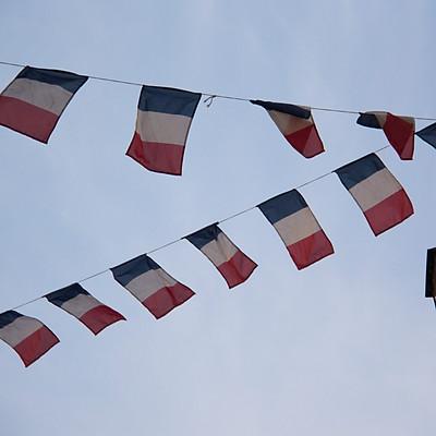 France: bleu, blanc et rouge