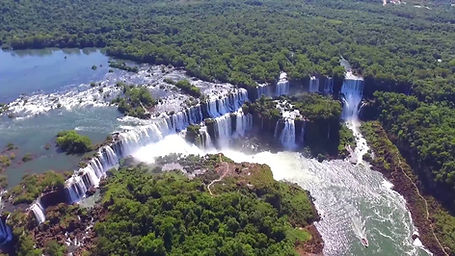 Breizilya Iguazu Şelaleleri