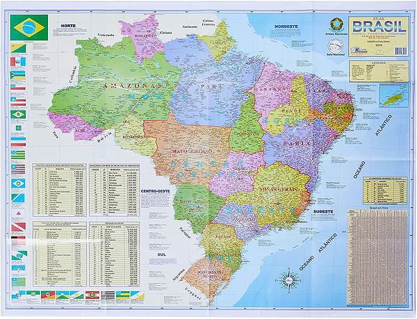 Brezilya Okul Haritası