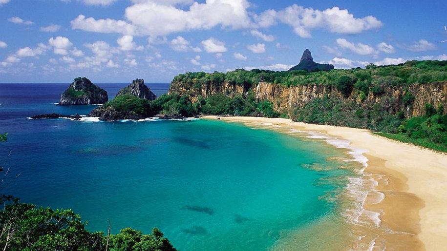 Baía Do Sancho Plajı Brezilya