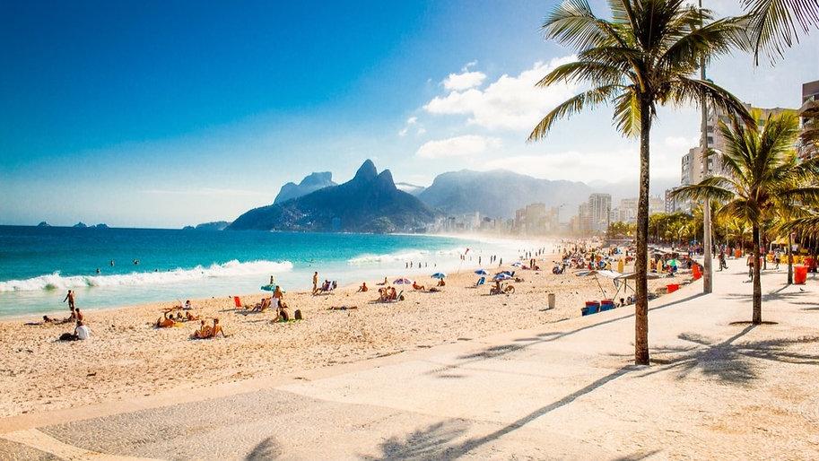 Ipanema Plaji Rio de Janeiro