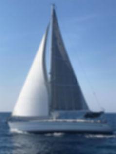 Charter a sailing boat