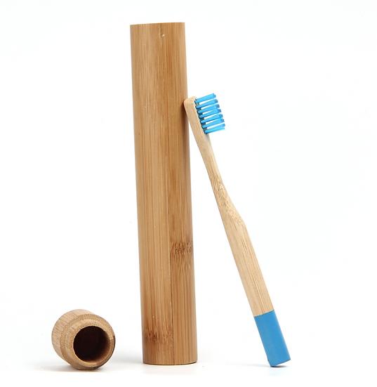 Etui pour brosse à dents en bambou