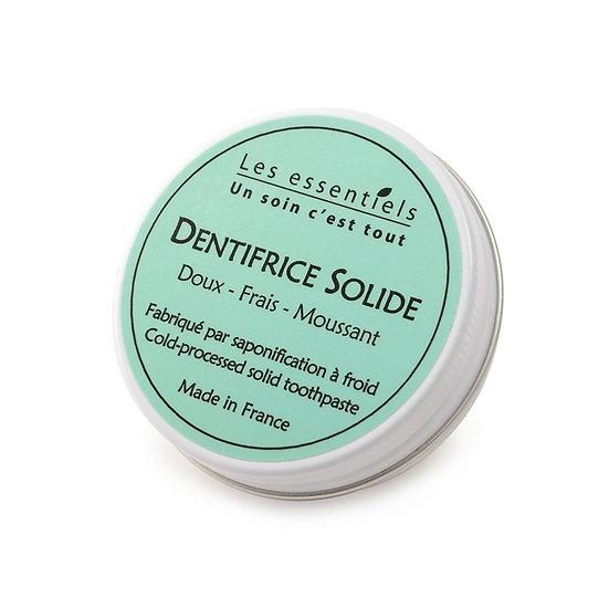 "Dentifrice solide menthe ""les essentiels"""