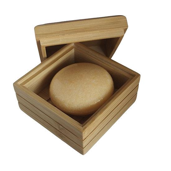 Boîte à savon,shampoing ou soin solide en bambou