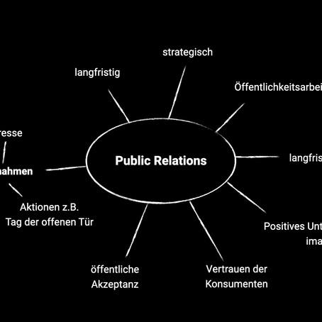 Public Relations: zwischen zwei Welten.