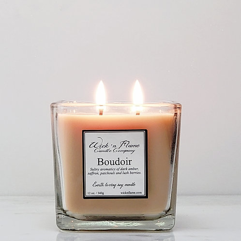 BOUDOIR: Sultry aromatics of dark amber, saffron, patchouli and lush berries.
