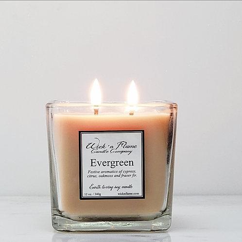 EVERGREEN: Festive aromatics of cypress, citrus, oakmoss and fraser fir.