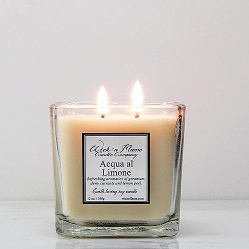 ACQUA AL LIMONE, Fresh aromatics of geranium, dewy currants and lemon peel.