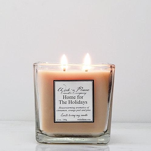 HOME FOR THE HOLIDAYS: Housewarming aromatics of cinnamon, orange and pine.