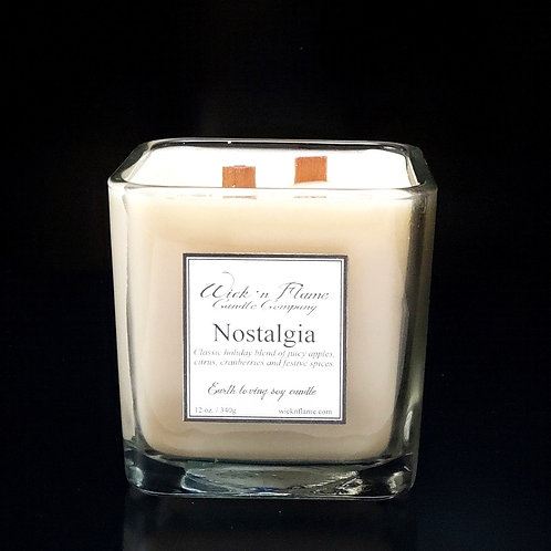 NOSTALGIA:Classic holiday blend of apples, citrus,cranberries and festive spices