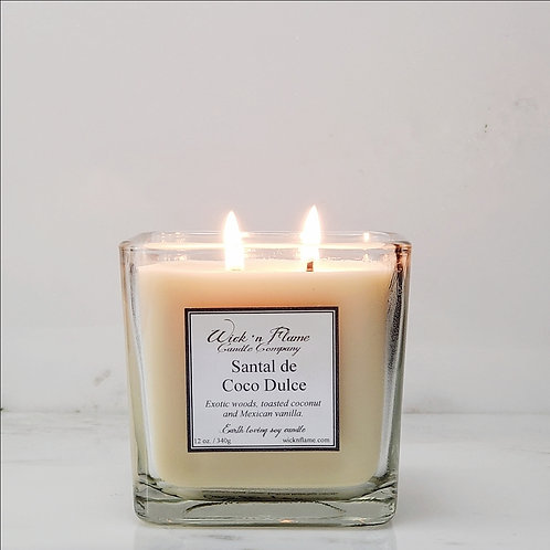 SANTAL DE COCO DULCE, Exotic woods, toasted coconut and Mexican Vanilla.