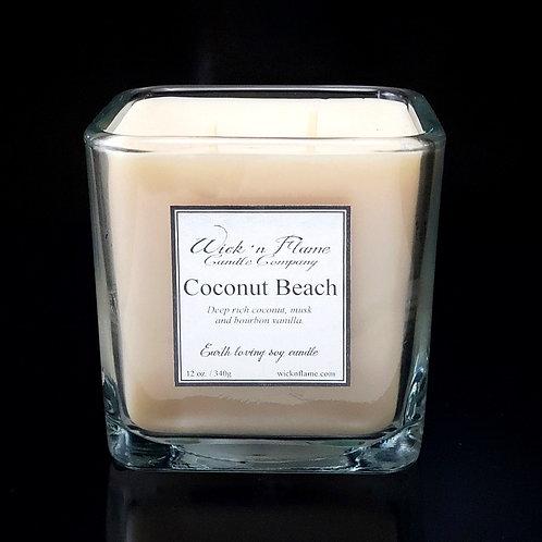 COCONUT BEACH: Toasted coconut, aged bourbon and Tahitian vanilla.