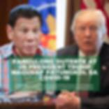 Pangulong Duterte at US President Trump Nagusap Patungkol sa COVID-19