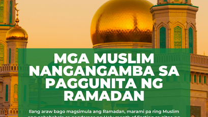 Mga Muslim nangangamba sa paggunita ng Ramadan