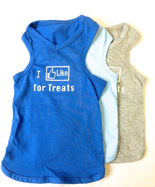 "I ""Like"" for Treats Shirt"