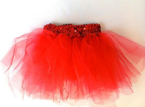 Shimmer Red Tutu
