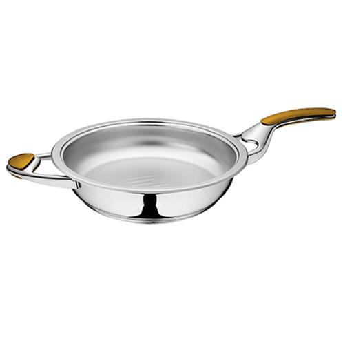 Сковорода 3,8 л без крышки  Z-FP2838-LS/S