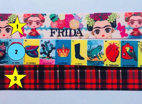 Frida Loteria RPlaid LEASH (L)