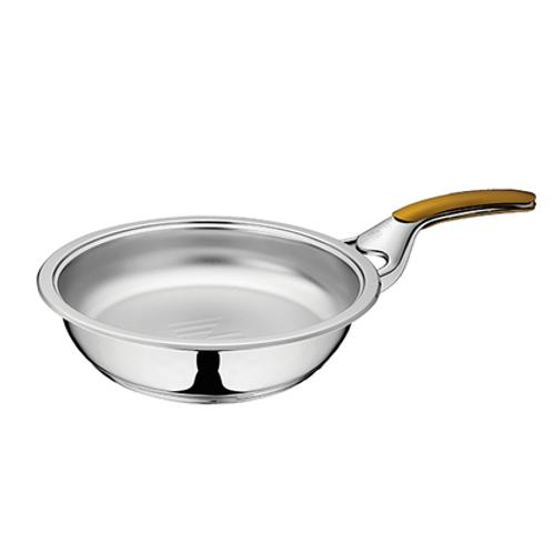 Сковорода 2,5 л без крышки  Z-FP2425-S/S