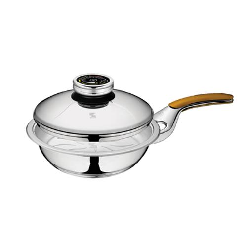 Сковорода 1,3 л с крышкой  Z-FP2013-SC