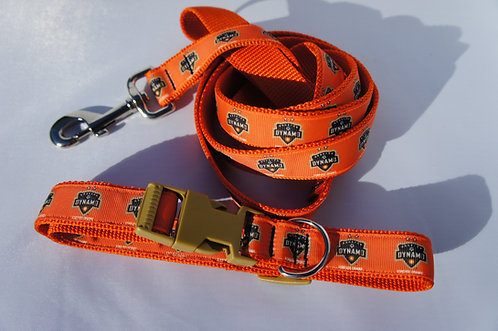 Orange Soccer Leash