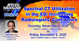 Spectral CT Utilization in the ED: Increasing Radiologists' Confidence